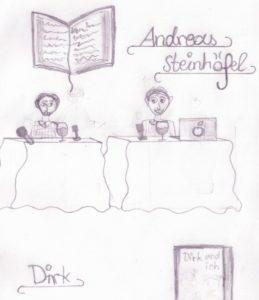 Autorenlesung Zeichnung